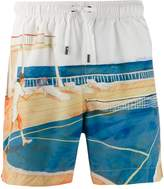 ce3c5a8b Ermenegildo Zegna printed swim shorts $368 at Farfetch