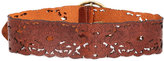 Streets Ahead Wide Belt in Chocolate -