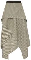J.W.Anderson Handkerchief draped skirt