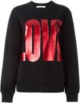 Givenchy Love sweatshirt