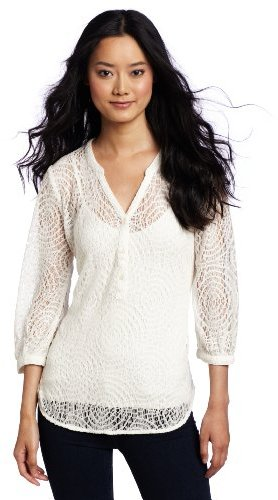 Lucky Brand Women's Alli Lace Pullover