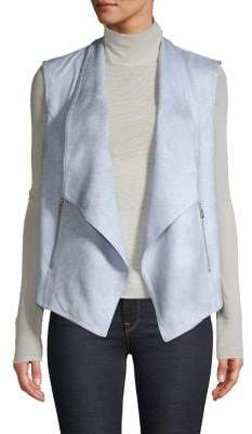 Jones New York Drape-Front Vest