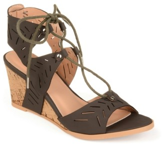 Journee Collection Minny Wedge Sandal