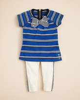 Juicy Couture Infant Girls' Stripe Tee & Legging Set - Sizes 3-24 Months