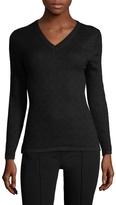 Carolina Herrera Women's Cashmere V-Neck Sweater