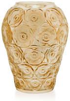 Lalique Gold-Luster Anemones Medium Vase