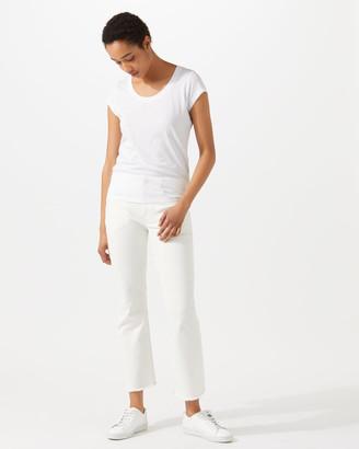Jigsaw Pima Cotton Short Sleeve T-Shirt
