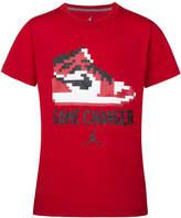 Jordan Sneaker-Print Cotton T-Shirt, Big Boys