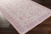 The Well Appointed House Surya Zahra Rug in Blush Pink, Rose, Purple, Gray, & Eggplant - Variety of Sizes Available