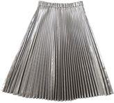N°21 Silver Pleated Lam