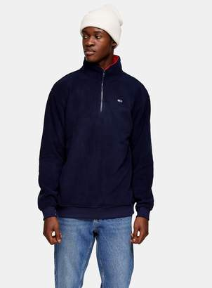 Tommy Jeans TopmanTopman Navy Polar Fleece