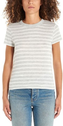 Alexander Wang Fitted Striped T-Shirt