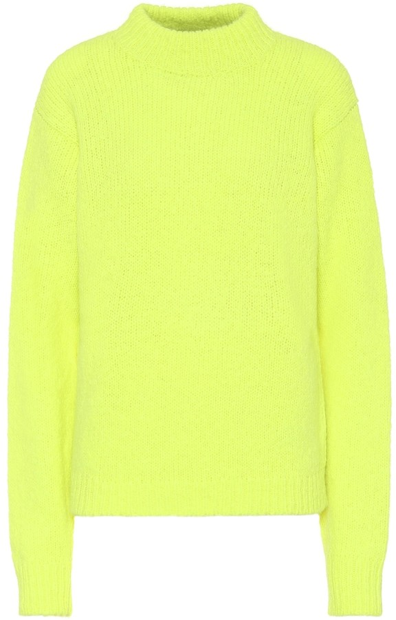 Tibi Cozette alpaca and wool sweater