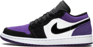 Jordan Air 1 Low 'Court Purple' Shoes - 8.5