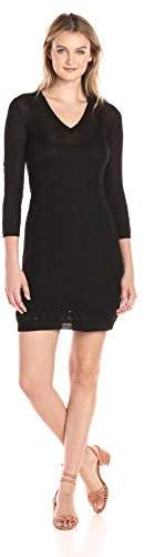 M Missoni Women's Black Solid Knit Dress