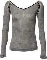 Christian Dior Grey Viscose Tops