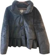 Armani Collezioni Grey Coat for Women