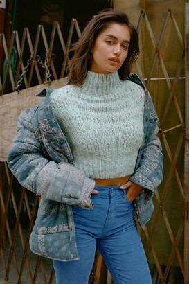 Urban Outfitters Evelyn Mock Neck Sweater