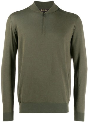Loro Piana zip up sweatshirt