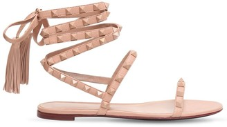 Valentino 10mm Rockstud Flair Leather Sandals