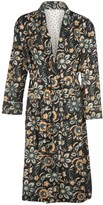 Carousel Jewels Green Floral Dressing Gown