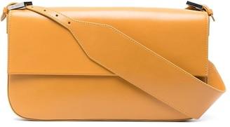 BY FAR Manu leather shoulder bag