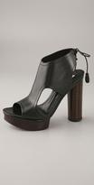 Fanny Tie Back Platform Sandal