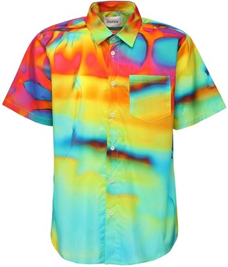 The Silted Company Multicolor Ice S/s Cotton Shirt