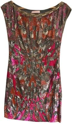 Matthew Williamson Pink Glitter Dress for Women