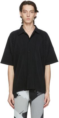 Homme Plissé Issey Miyake Black MC July Short Sleeve Shirt