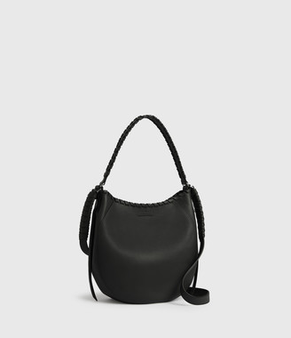AllSaints Ada Leather Hobo Bag
