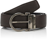 Salvatore Ferragamo Men's Gancio-Buckle Reversible Leather Belt