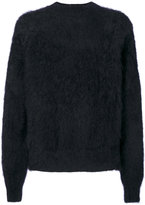 Haider Ackermann fluffy jumper - men - Silk/Mohair - XS
