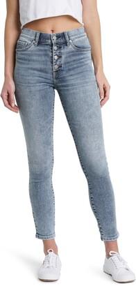 DAZE Call You Back High Waist Skinny Jeans