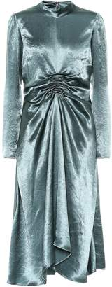 Sies Marjan Nara satin midi dress