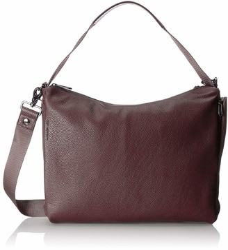 Mandarina Duck Women's Mellow Leather Tracolla Shoulder Bag 13 x 30 x 40 cm Purple Size: One size