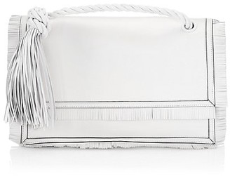 Valentino The Rope Leather Clutch