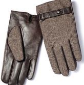 Charles Tyrwhitt Brown tweed gloves