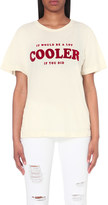 Wildfox Couture Cooler-print cotton-jersey t-shirt