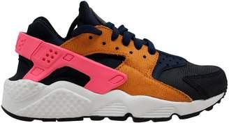 Nike Huarache Run Premium Obsidian/Black-Sunset-Digital Pink (W)