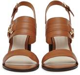 Reiss Adelina - Block-heel Sandals in Tan