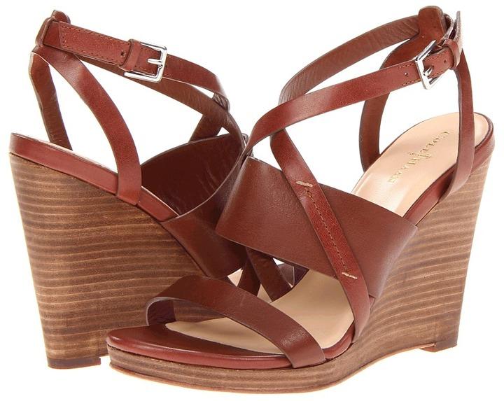 Cole Haan Pelham Strap Wedge (Sequoia) - Footwear