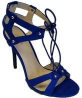 Qupid Ara high heel tie up sandal