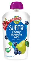 Earth's Best Organic 3.5 oz. Super Cherry Blueberry Pear Fruit Puree