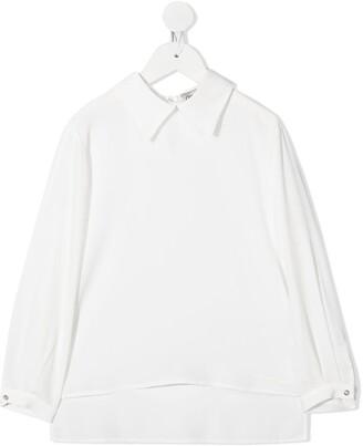 Simonetta TEEN high-low shirt