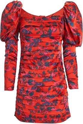 For Love & Lemons Monet Floral Mini Dress