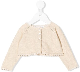 Tartine et Chocolat Perforated Knitted Jumper