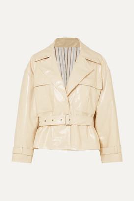 Frankie Shop Pvc Jacket - Cream