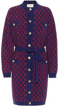 Gucci GG wool-blend cardigan