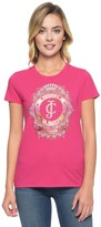 Juicy Couture Logo Banner Crest Short Sleeve Tee